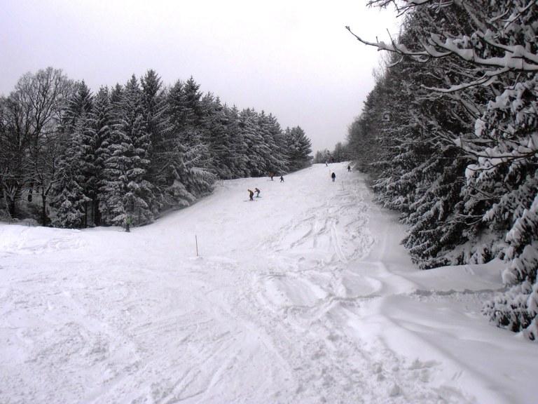 Skihang im Winter