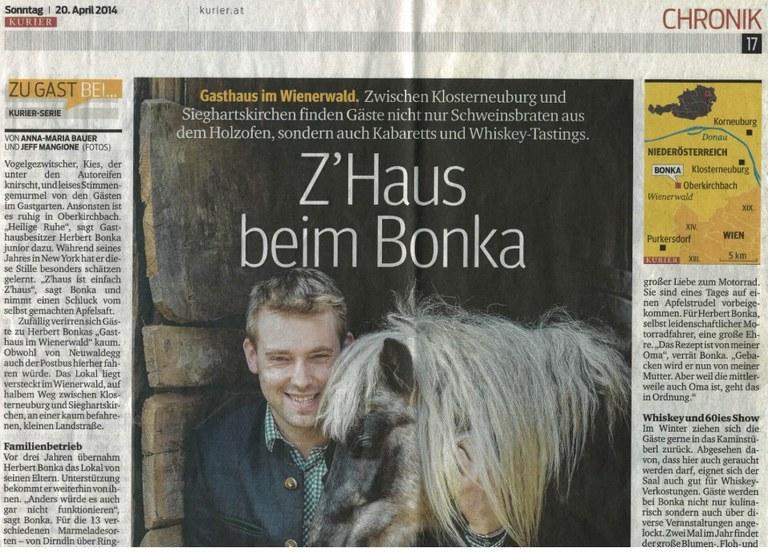 Kurier Doppelblatt Ostern 2014